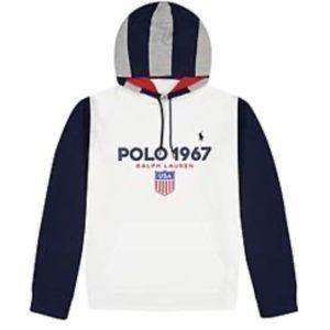 Polo Ralph Lauren 1967 Long-Sleeve Hoodie Tee